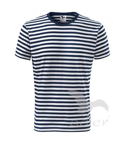 f2e288216 Pánske námornícke tričko s krátkym rukávom Adler Sailor 803 Malfini ...