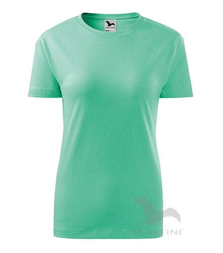 d2632d0ea095 Adler dámske tričko s krátkym rukávom Basic 134 mätové