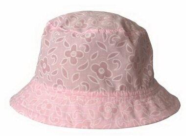 05f8b49f8 Dievčenský ružový klobúk Repal letný s kvetmi, bavlnený na sklade
