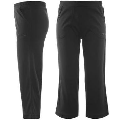 7da4645e59 LA Gear dámske 3 4 nohavice   tepláky - Three Quarter Interlock Pants  Ladies čierne