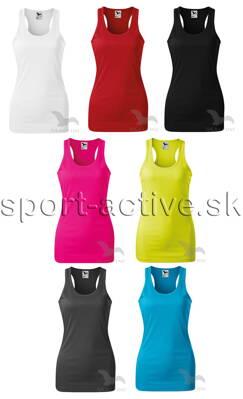 Malfini dámske tielko - tričko s ramienkami Racer 167 61095a88cbd