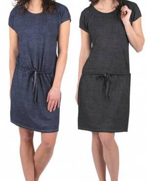75b99da055e7 Evona dámske bambusové šaty s krátkym rukávom Neapol