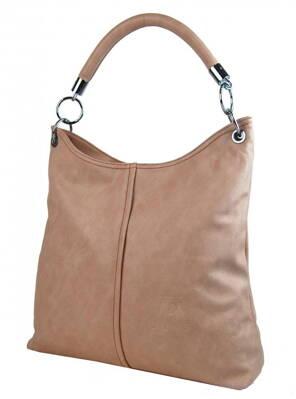 98e4d1e22a Mahel dámska kabelka na rameno 54-MH ružová