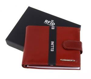 3383694c1 Ellini pánska kožená peňaženka TM-51R-032 s RFID v krabičke koňaková hnedá