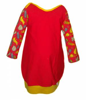 PeDi dievčenské balónové šaty s dlhým rukávom db48784878