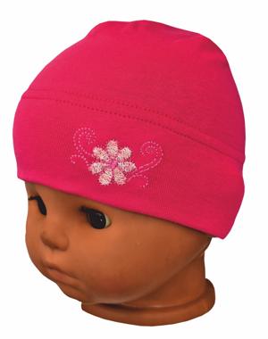 e081e83a5 Repal kojenecká dievčenská jarná čiapka V02 ružová