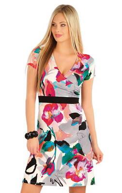 c58ce1f5f4a8 Litex dámske šaty s krátkym rukávom (58018)