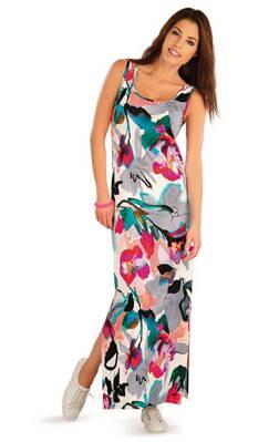 8e8da116ca02 Litex dámske dlhé šaty bez rukávov (58020)