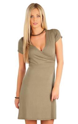 7480d63c925b Litex dámske šaty s krátkym rukávom (58078)