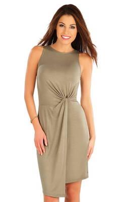 143bd47b59e0 Litex dámske šaty bez rukávov (58079)