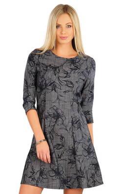 0478f4c6bc01 Litex dámske šaty s 3 4 rukávom (58089)