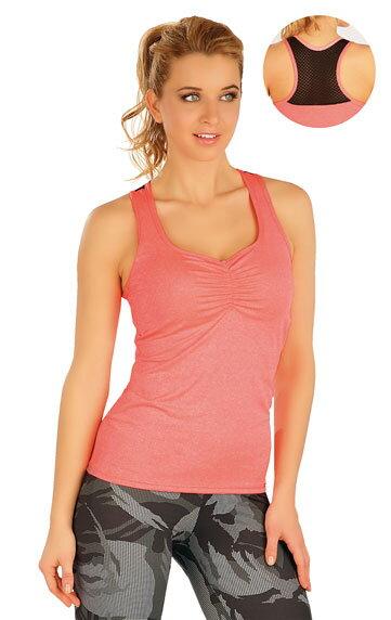0023ebda9308 Dámske tielko - tričko s ramienkami Litex 50059 so sieťovinou