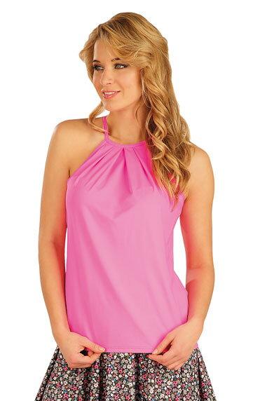 1ea73d7cd Dámske ružové tielko - tričko letné Litex 50313, na uväzovanie za ...