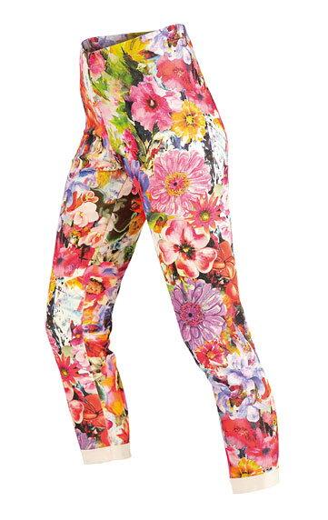 851633a3bcb1 Dámske 7 8 legíny s kvetmi - farebné Litex 50365