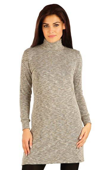 ee236fad7a1 Litex dámske šaty s dlhým rukávom (51013)