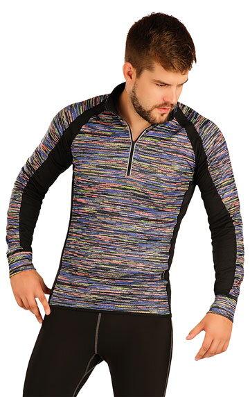 Pánske termo tričko s dlhým rukávom Litex 51392 so stojačikom a ... c9d08ed89f7