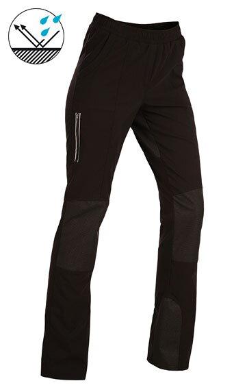 475d28eb5 Športové dámske čierne nohavice do pása Litex 55243 s vreckami, so ...
