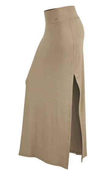 786c26d1a982 Dámska dlhá sukňa s rozparkami Litex 58077