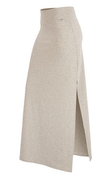 0ab624005e39 Dlhá dámska sukňa s rozparkami a širokým pružným pásom Litex 58133 ...