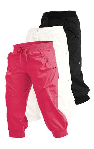 bd344eb90bf9 3 4 športové nohavice dámske Litex 99568 s gumou v páse